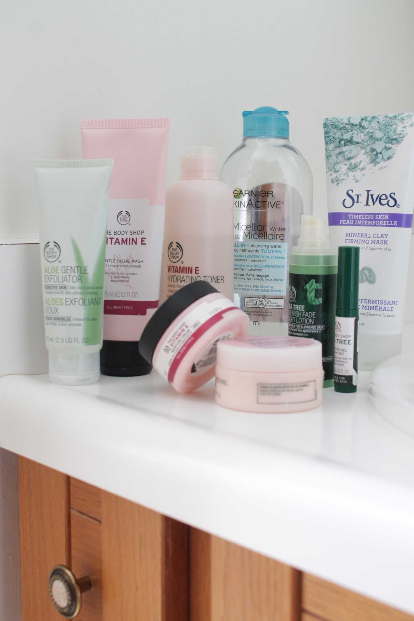 Skin Care and Face Care Products I Love