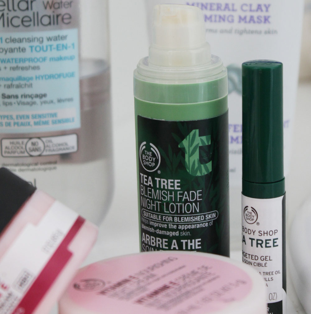 Skin Care Products Tea Tree Body Shop
