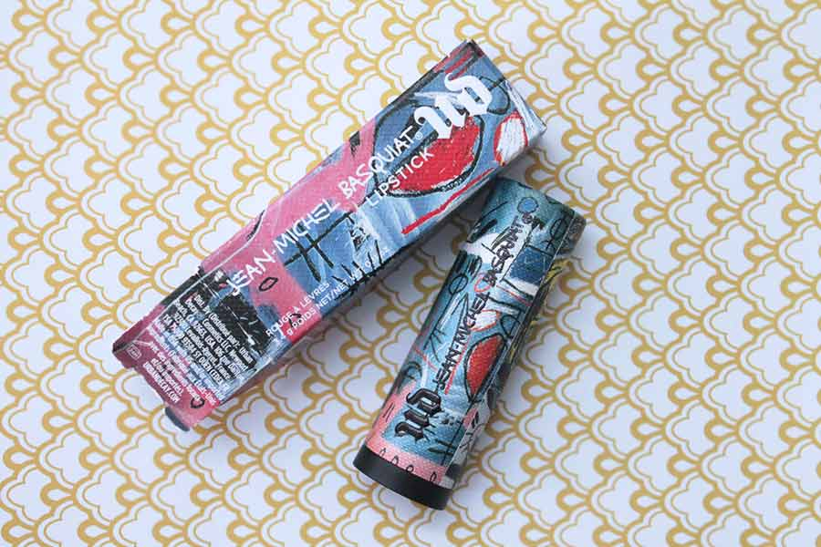Basquiat Lipstick Packaging and Tube