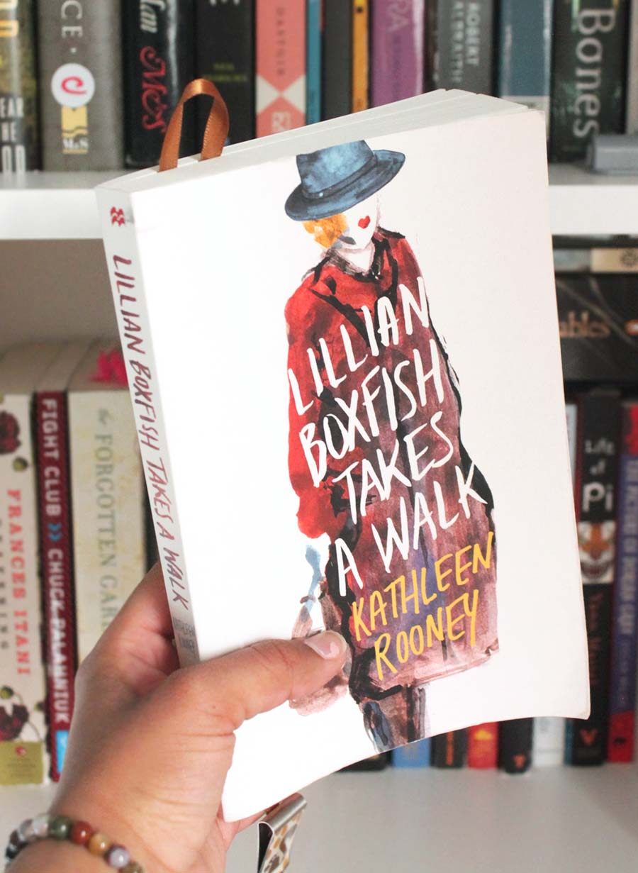Bookshelf Series: Lillian Boxfish Takes A Walk
