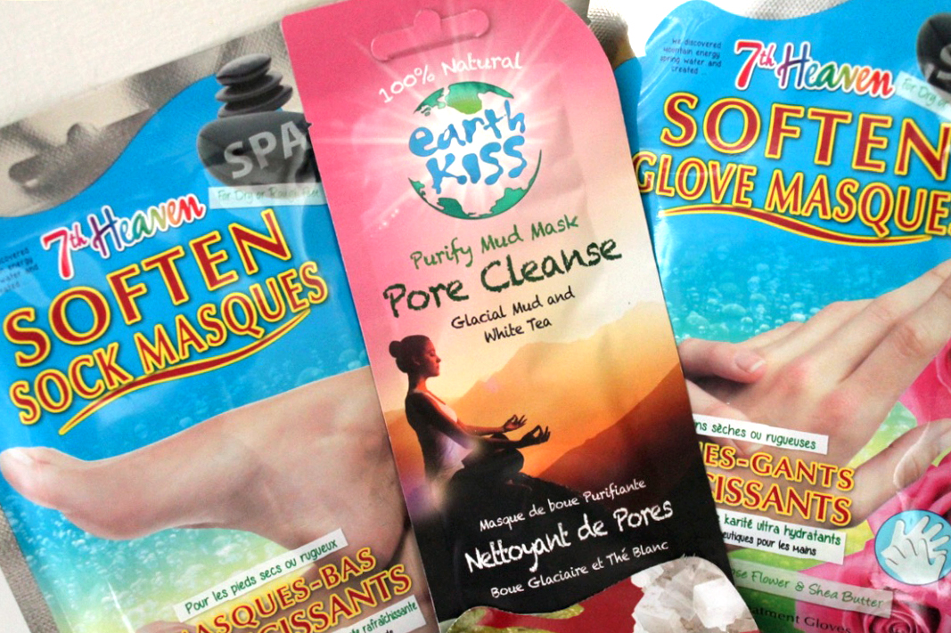 Soften Glove Masques and Earth Kiss