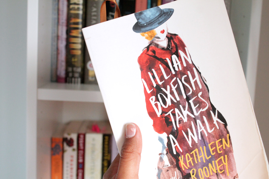 Lillian Boxfish Takes a Walk Close Up Cover