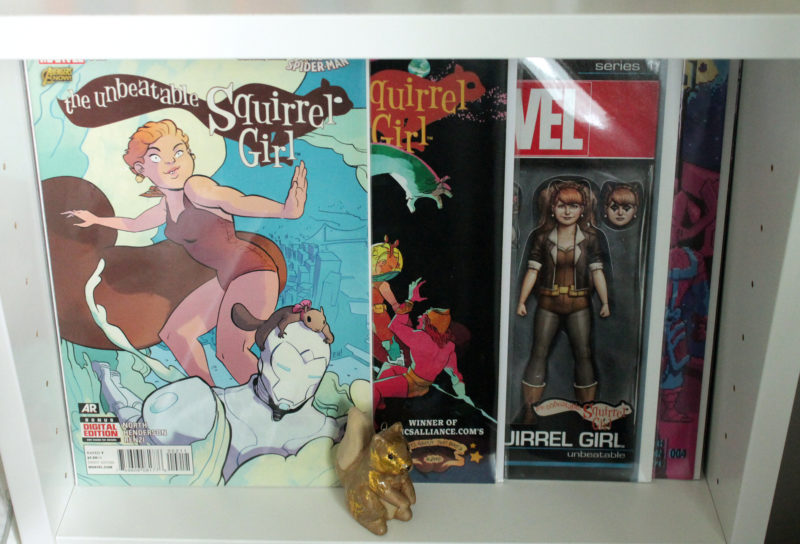 Squirrel Girl Comic Set 2-4 with Variant