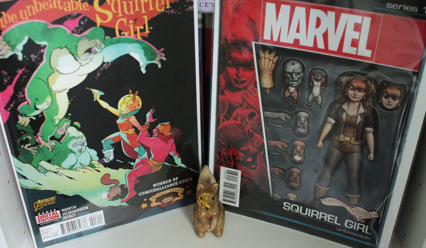 Squirrel Girl Vol 1 Issue 3 Variant and Regular