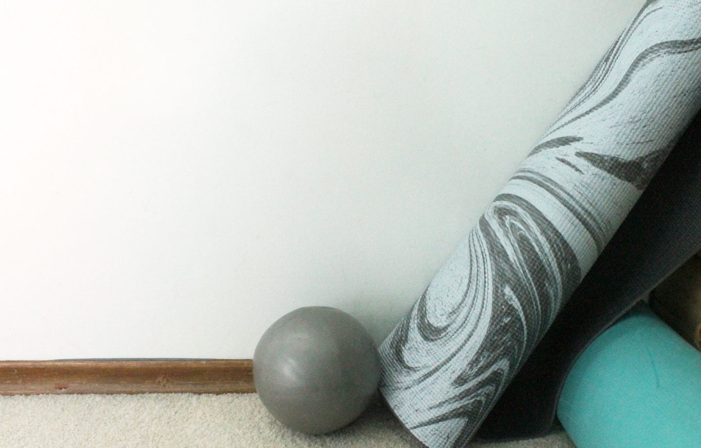 Barre Yoga Mat and Ball