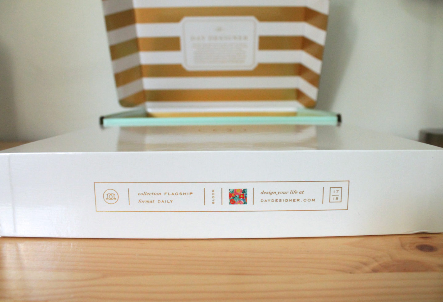 Day Designer Box and Planner Packaging