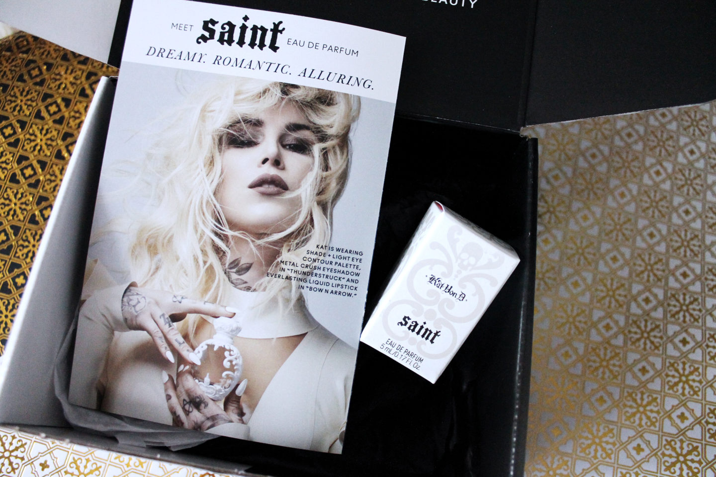 Saint Perfume in Box