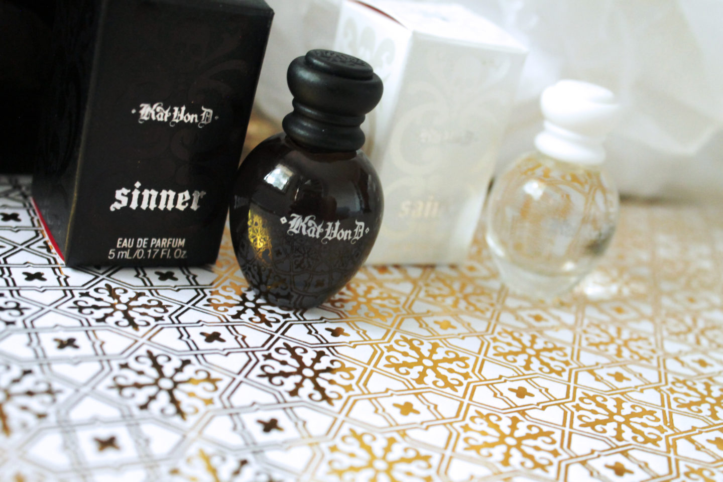 Sinner and Saint Perfumes in Row