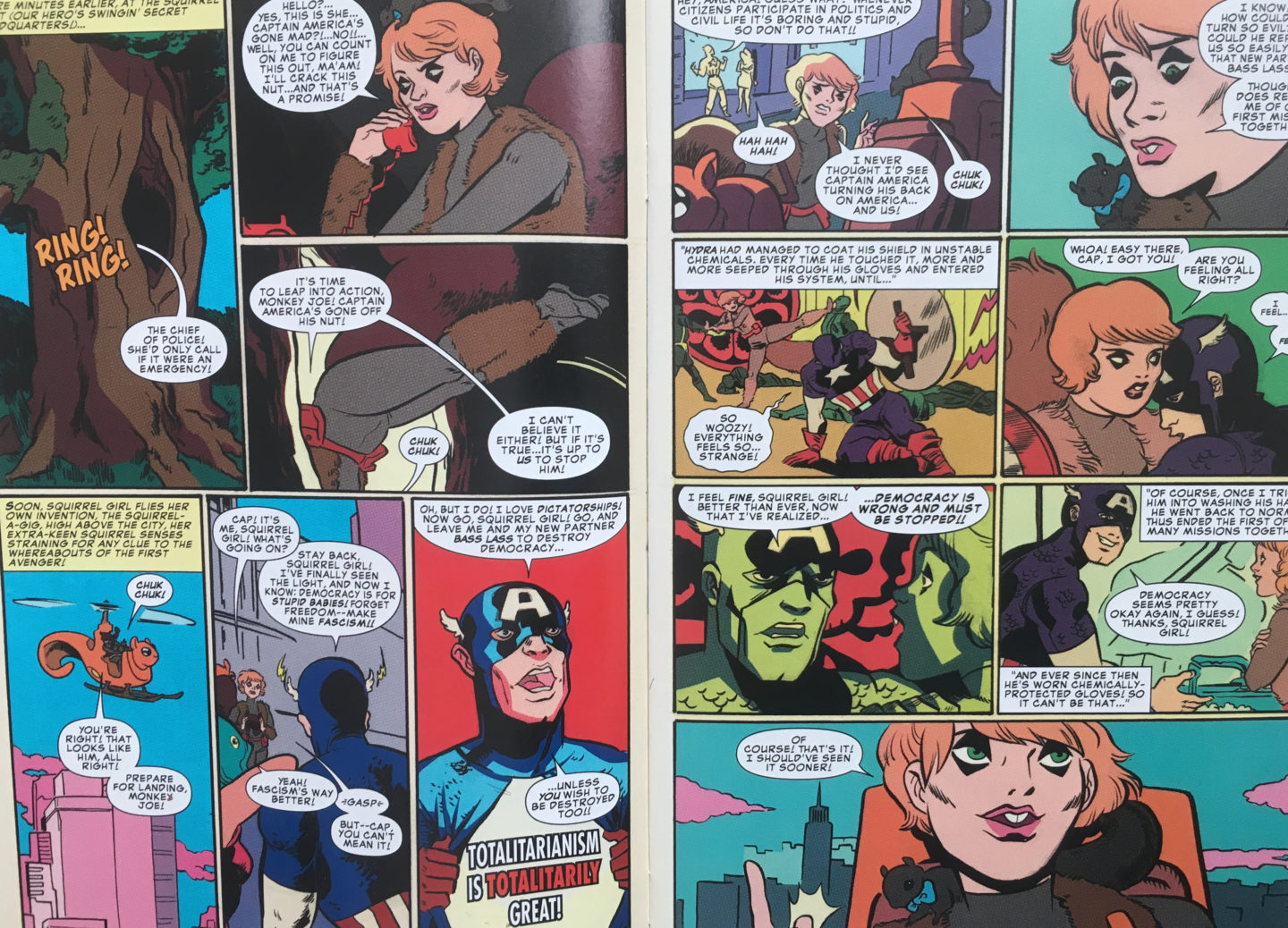 Squirrel Girl Various Forms