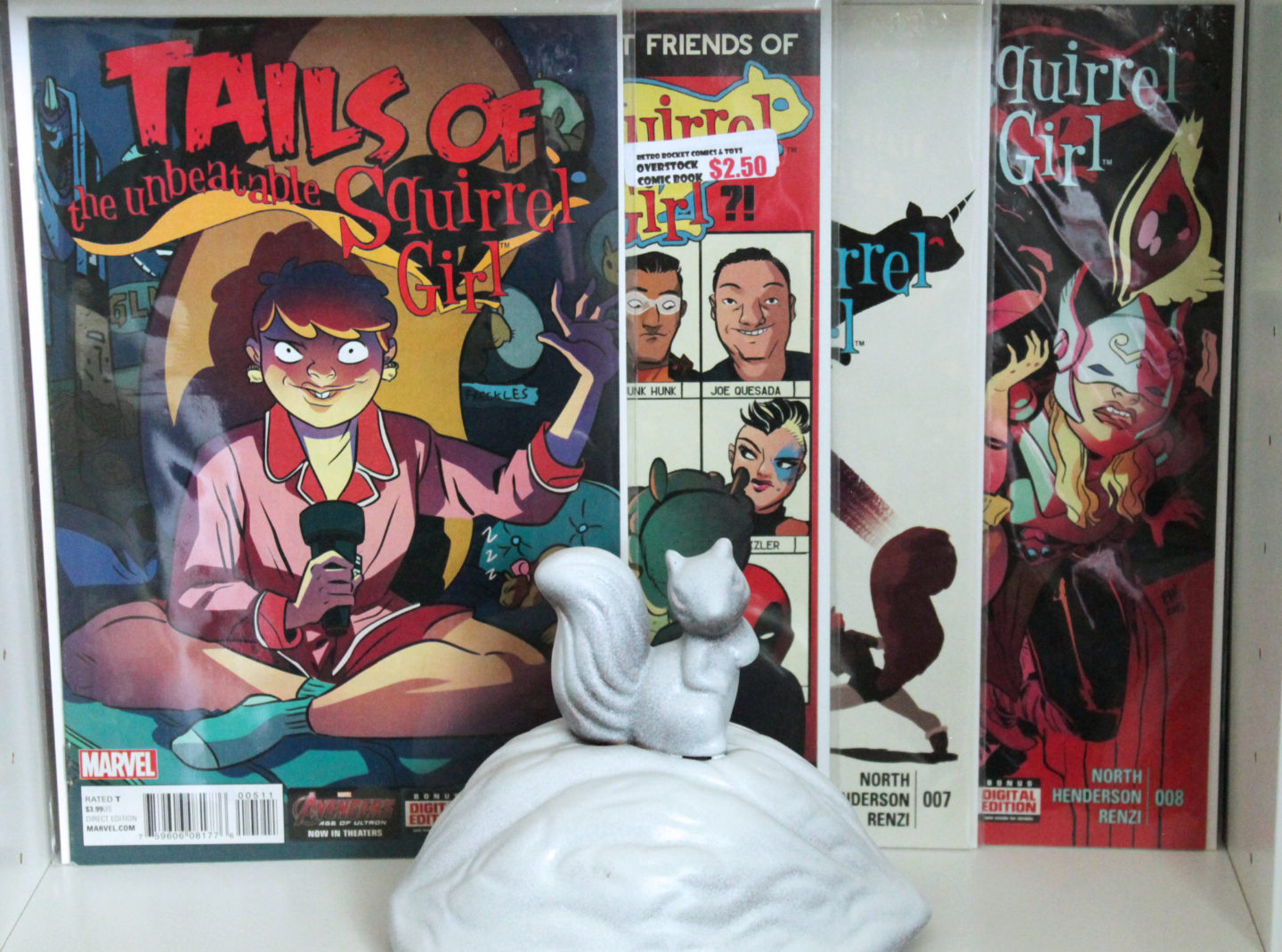 The Unbeatable Squirrel Girl Issues 5-8