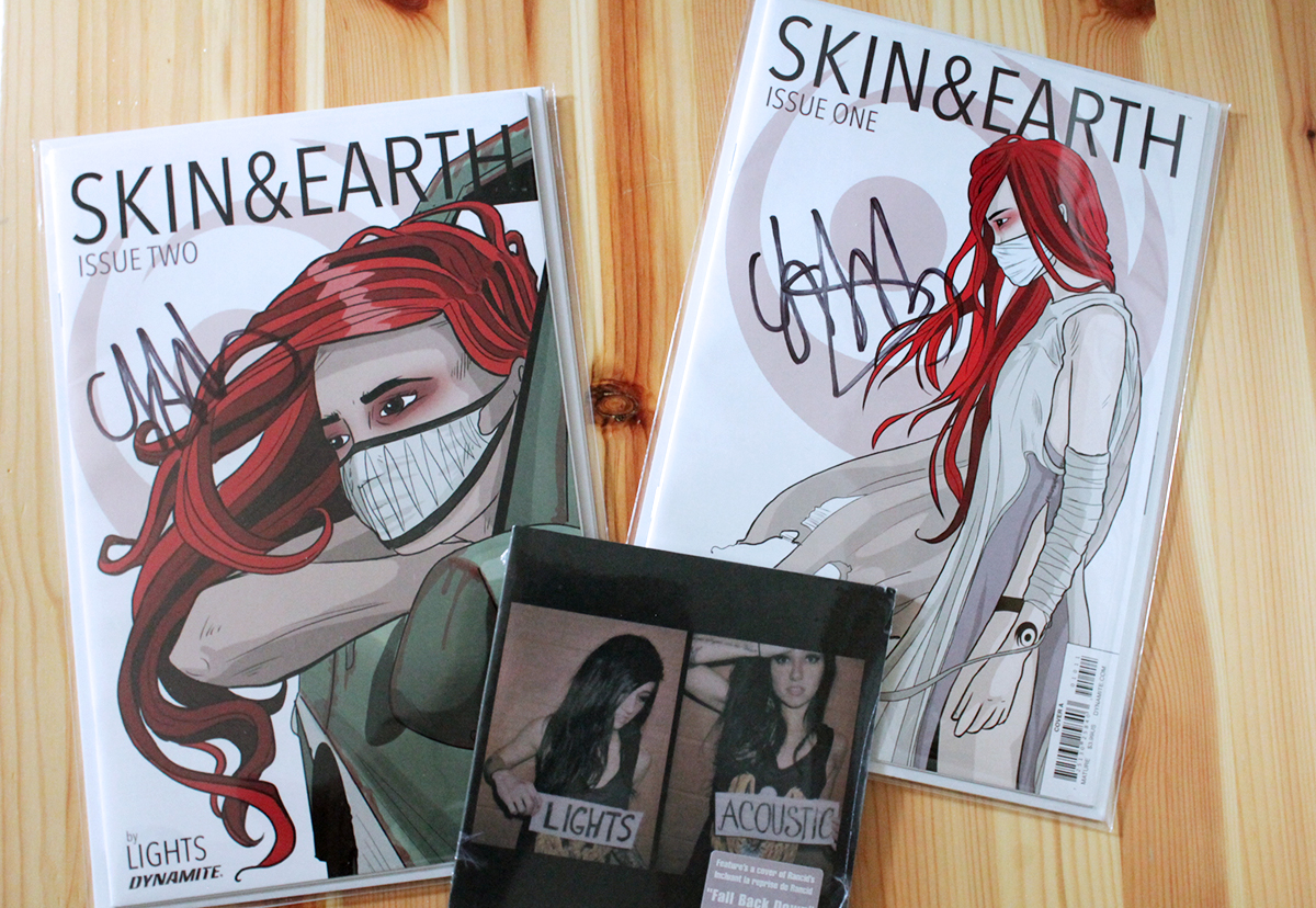 Lights Skin & Earth Issue 1 and Two from Fan Expo