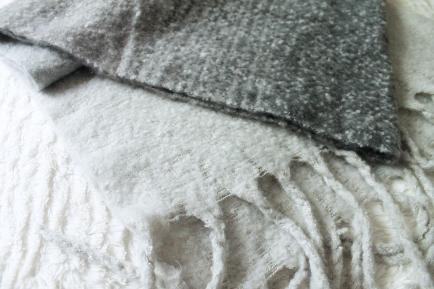 Mer-Sea and Co Grey Scarf