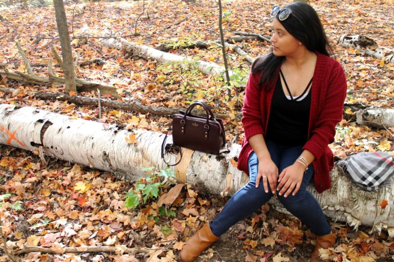 Fall Outfit Vanessa Kingson Forest