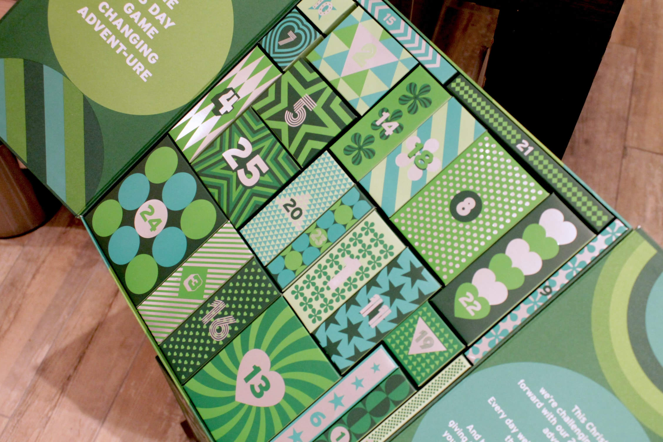 Body Shop Gift Hack Inside 25 Day Game Changing Advent-ure Calendar
