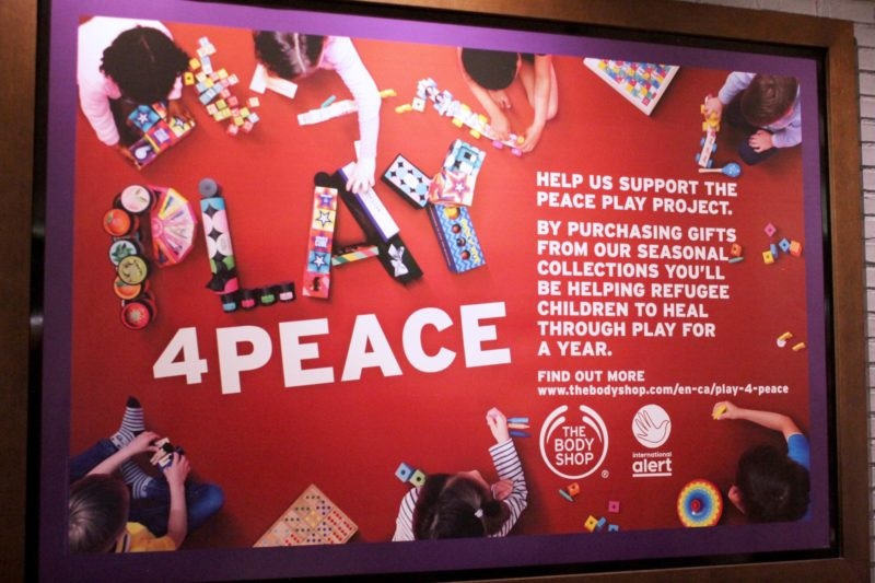 Body Shop Play For Peace