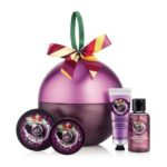 Frosted Plum Festive Tin