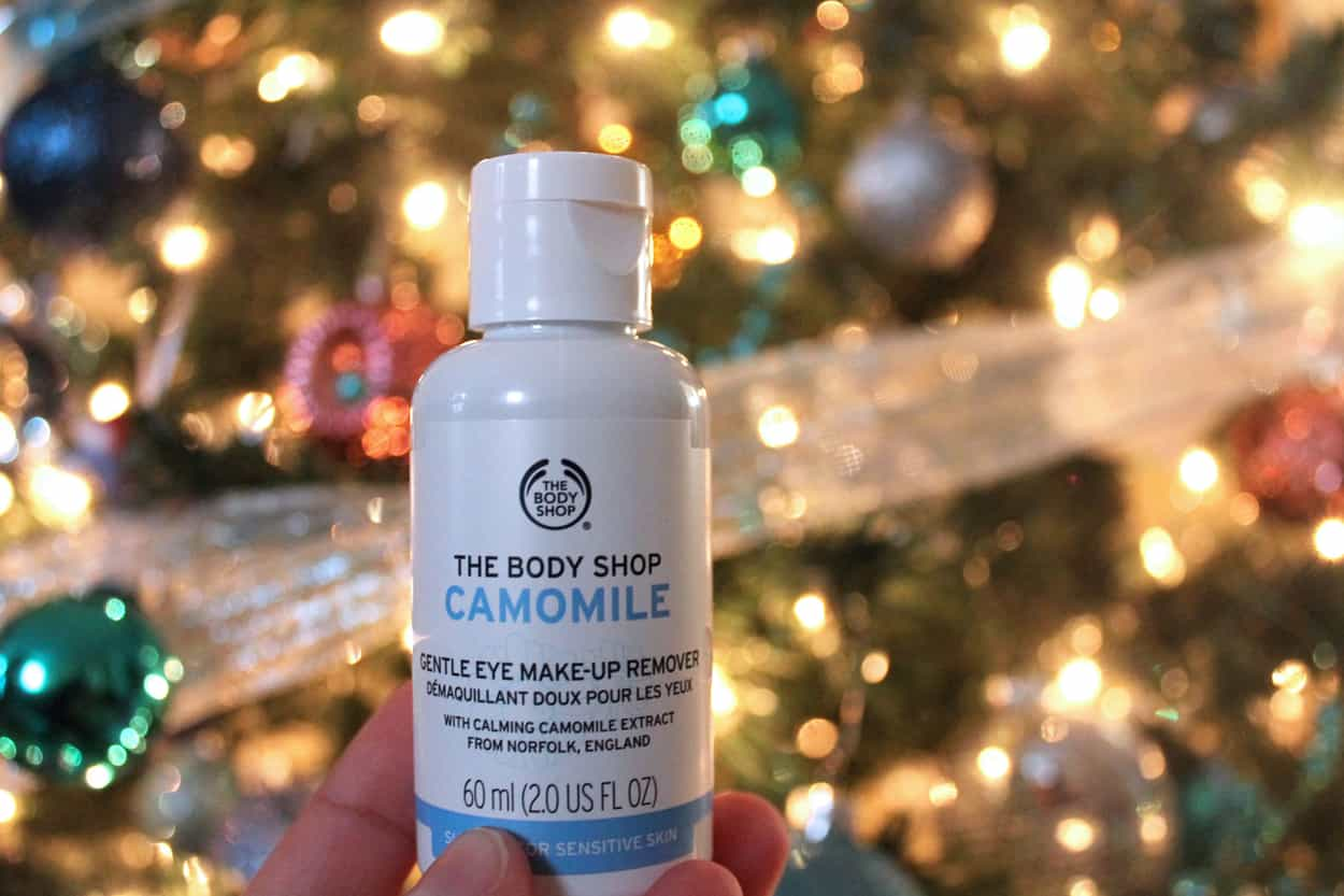 Camomile Eye Makeup Remover Body Shop Advent Day 14