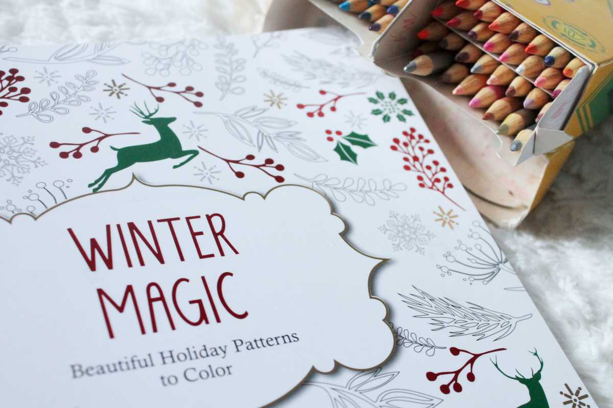 Mindfulness Christmas Colouring Relaxing