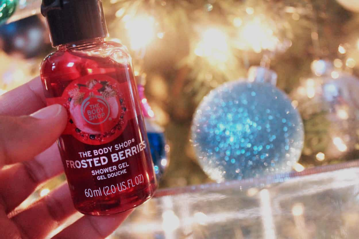 Frosted Berries Shower Gel Body Shop Advent Calendar Day 11